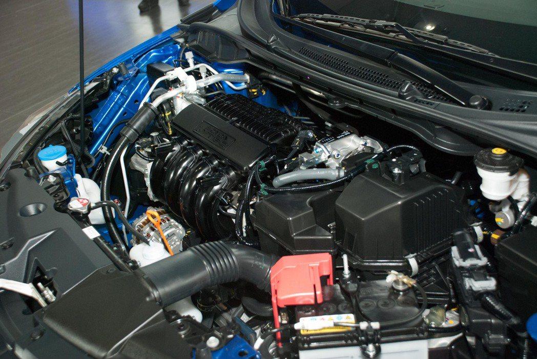 2018 Honda New City使用1.5升自然進氣引擎,可輸出最大馬力為120PS。記者林昱丞/攝影