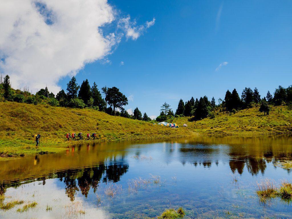 登山人一生必爬Top10-加羅湖|圖片來源:KeroroTW/ Flickr