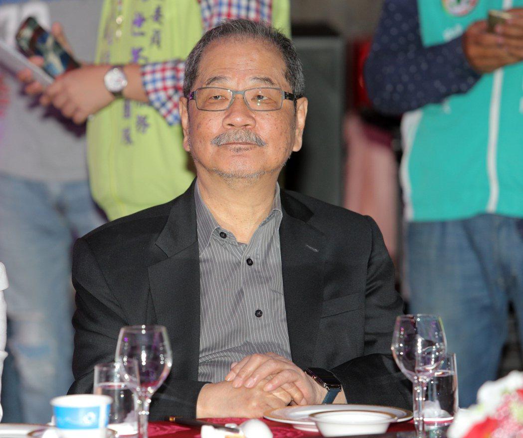 民進黨前秘書長吳乃仁。 本報資料照