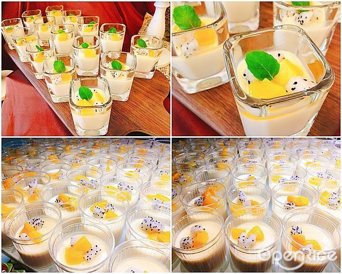▲「烏龍茶芒果奶油慕斯」香醇濃郁的高山烏龍茶香做成的綿密慕斯,搭配清爽酸甜的芒果...