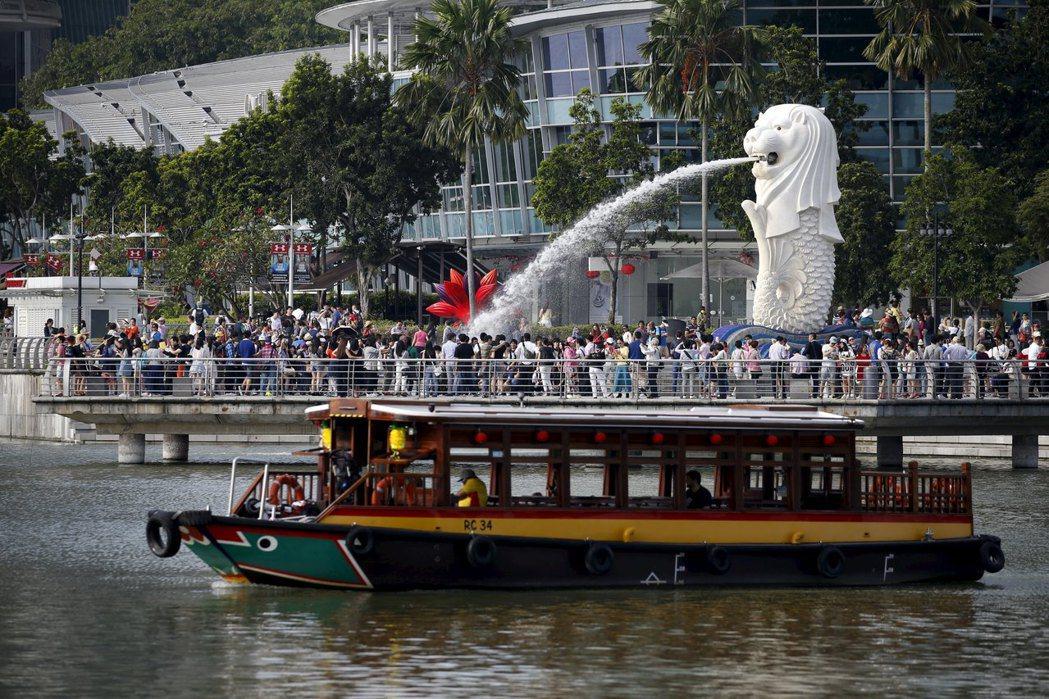 新加坡受出口激勵,第3季GDP優於預期。(路透)