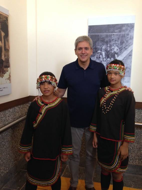 馬禮安到台東參加布農族射耳祭。圖/加拿大駐台北貿易辦事處提供