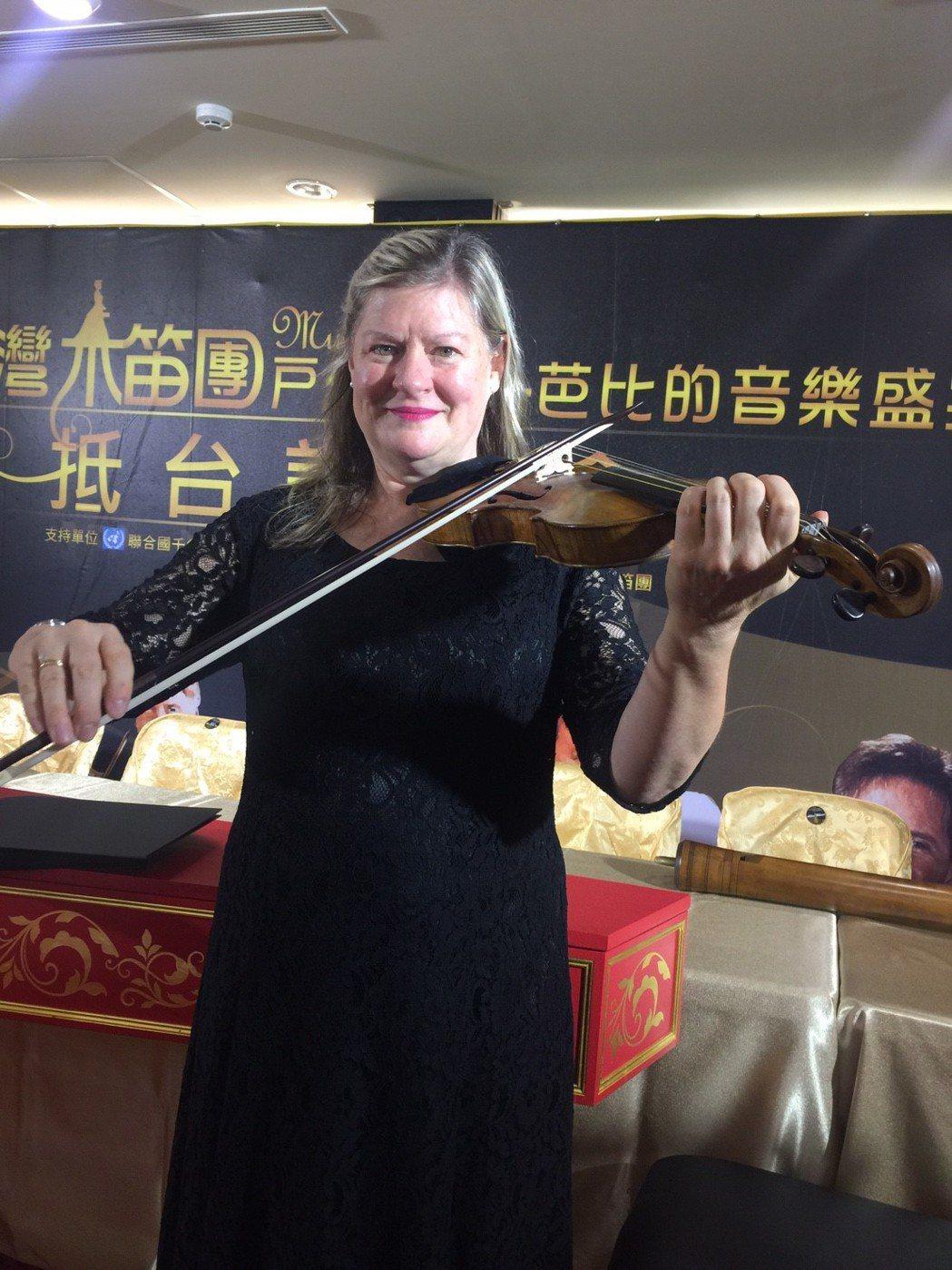 美國紐約茱莉亞音樂學院小提琴教授Cynthia Roberts,帶來16世紀的罕...