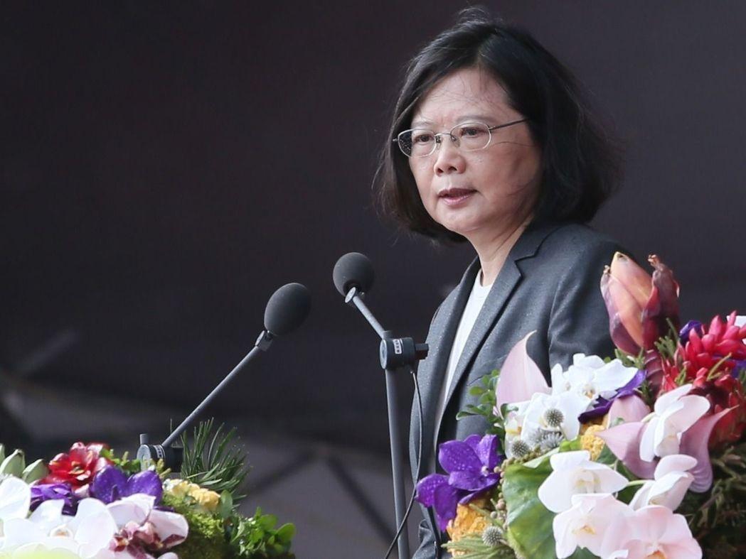 蔡英文總統。 聯合報系資料照/記者陳柏亨攝影