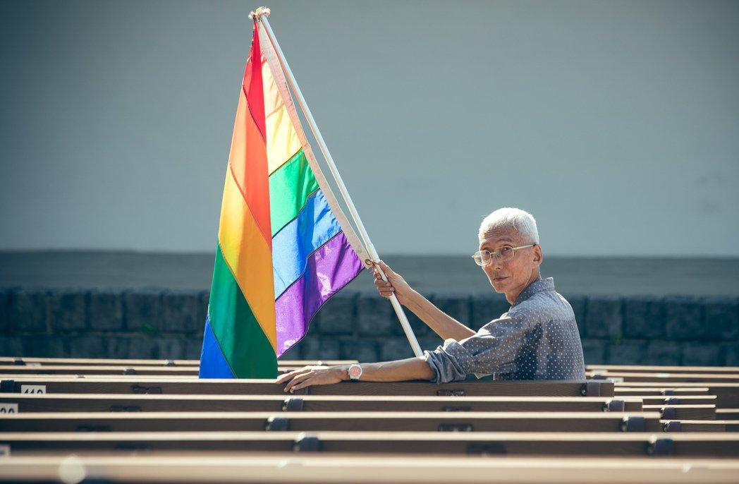 同婚前鋒祁家威獲第9屆總統文化獎社會改革獎。圖/文化總會提供