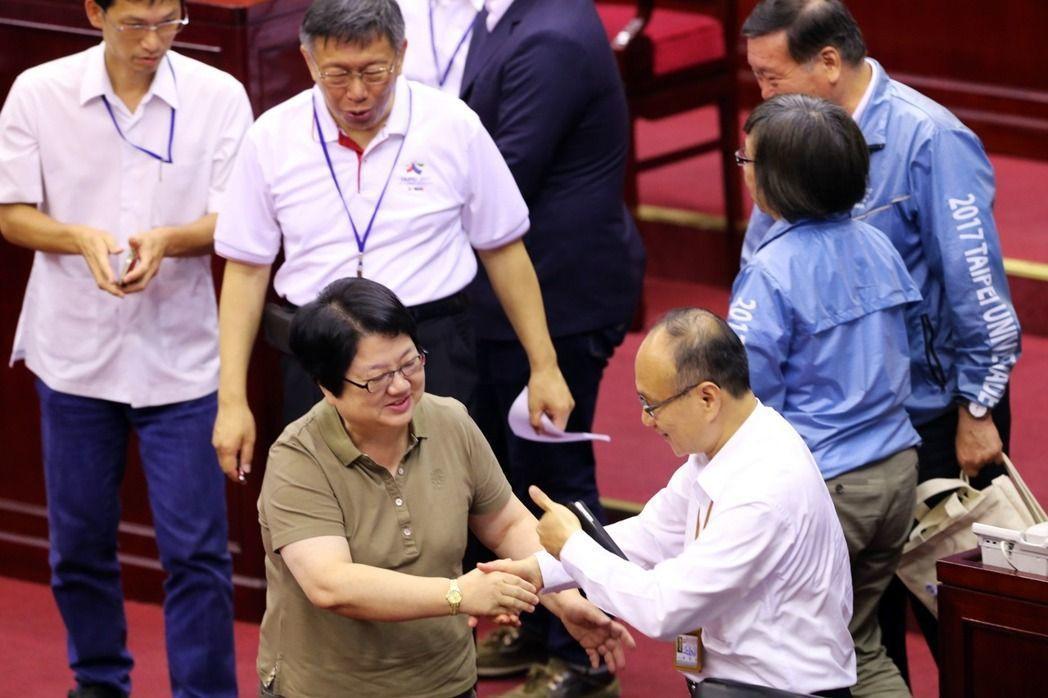 台北市女議長吳碧珠。圖∕報系資料照