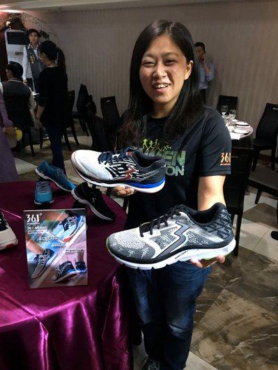 連續多年贊助金門馬拉松的361度,將在比賽當天提供鞋款體驗活動。記者劉肇育/攝影
