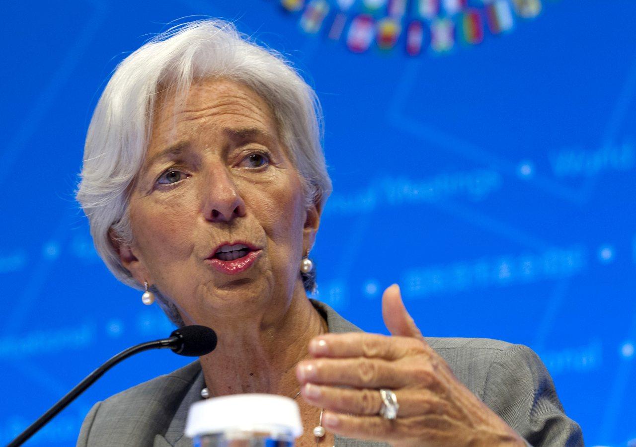 IMF總經理拉加德表示,全球央行和監查機構該開始認真看待數位貨幣了。(圖/美聯社...
