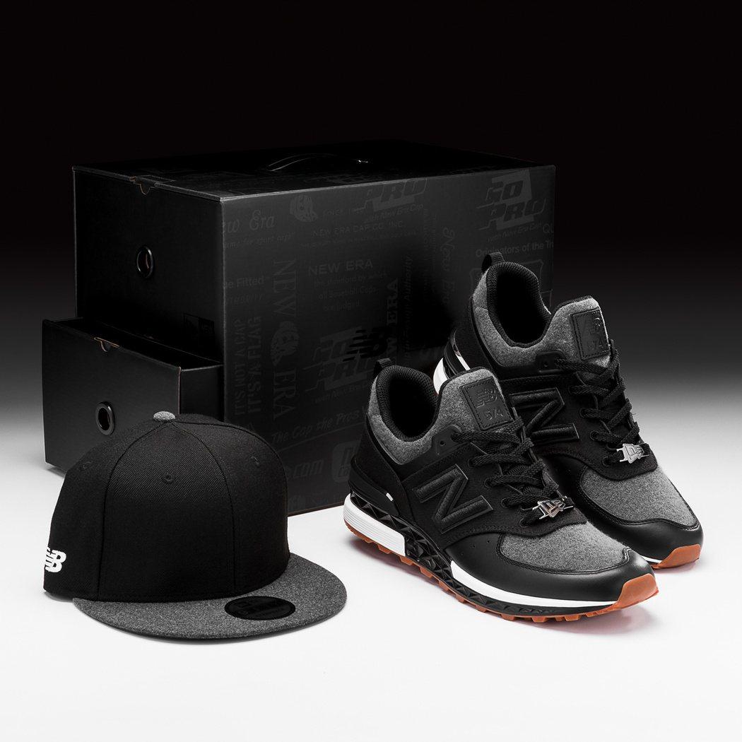 New Balance X New Era限定鞋帽組合4,950元。圖/New ...