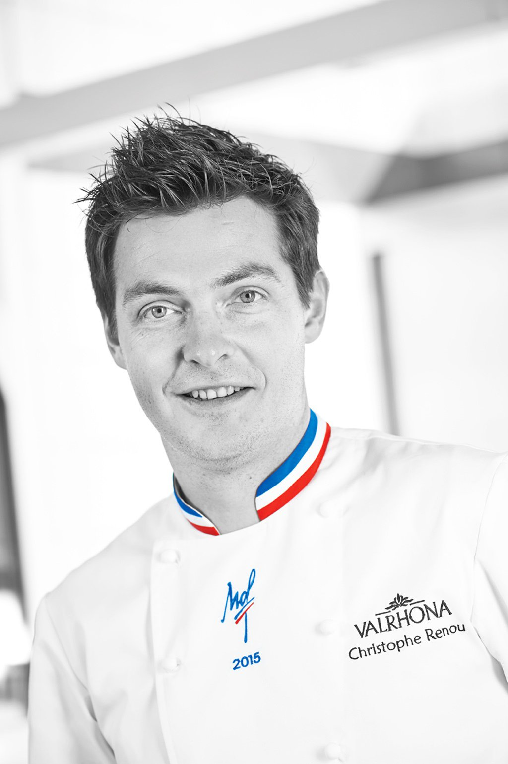 獲得MOF最佳甜點師的克里斯多弗‧何努(Christophe Renou)。圖/...