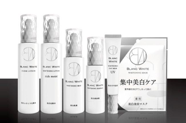 松本清獨家保養品牌BLANC WHITE。圖/轉載自BLANC WHITE官網