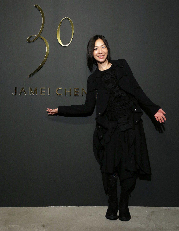 歌手萬芳也是陳季敏30周年大秀的嘉賓。圖/JAMEI CHEN提供