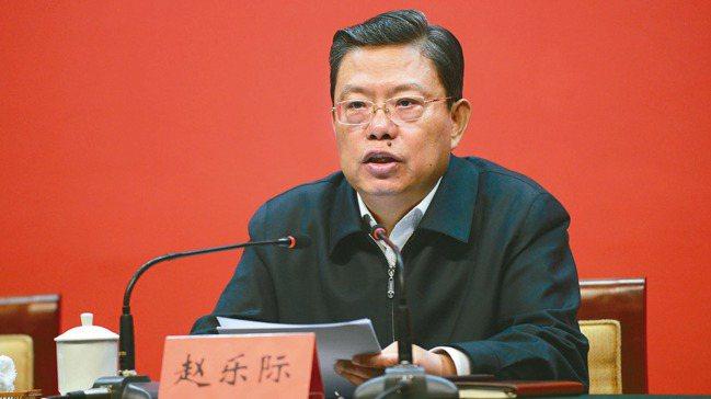 中組部長趙樂際。 本報資料照片