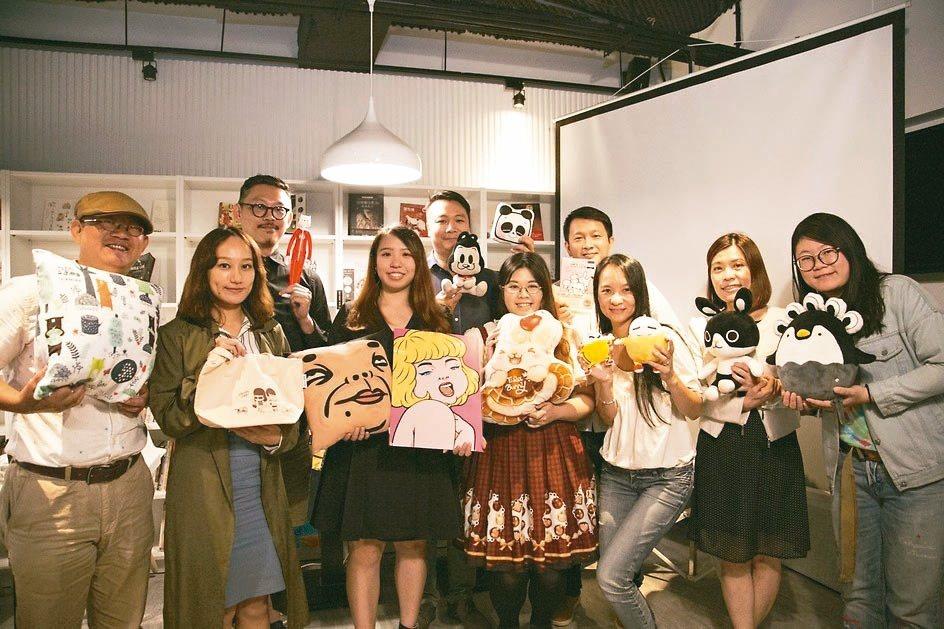 台灣圖像IP授權搶灘大陸市場,由文化部與聯合數位文創率領10組國內老將新秀參加第...