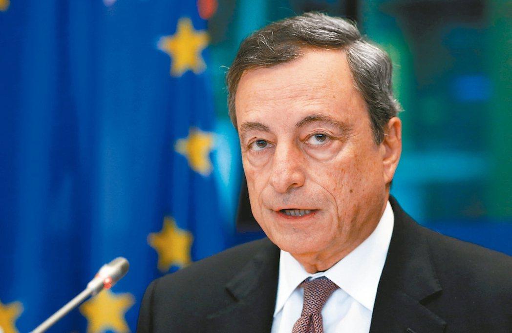 ECB總裁德拉基 (路透)