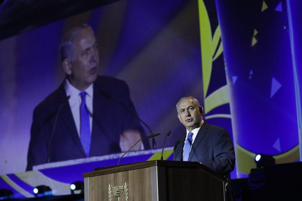 以色列總理內唐亞胡(Benjamin Netanyahu)對川普拒絕認證2015...
