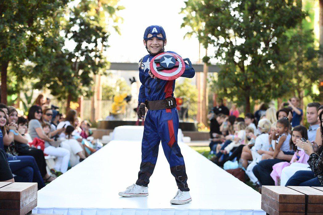 超級英雄是美國小孩子最愛裝扮第一名。 (美聯社)
