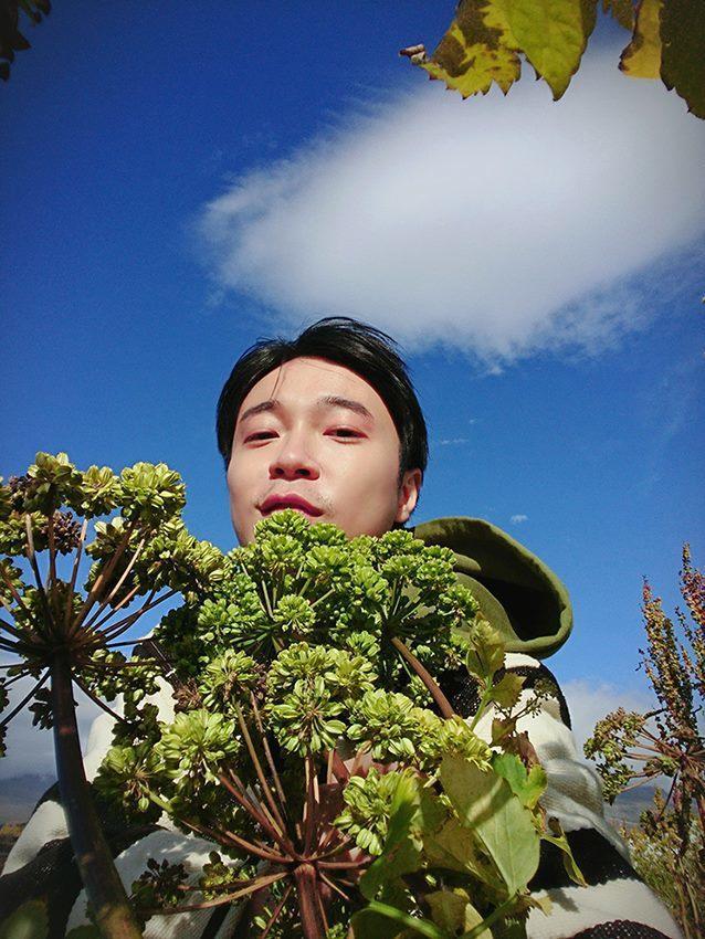青峰在臉書PO照說自己胖了8公斤。圖/摘自臉書