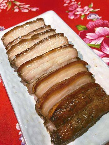 客家鹹豬肉 圖/邵冰如