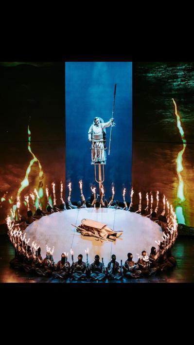 華格納歌劇「女武神」吸票,在台中演出,場場爆滿。 圖/台中國家歌劇院提供