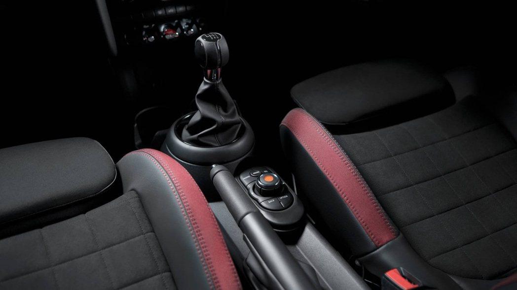 Mini 1499 GT內裝。圖/Mini提供
