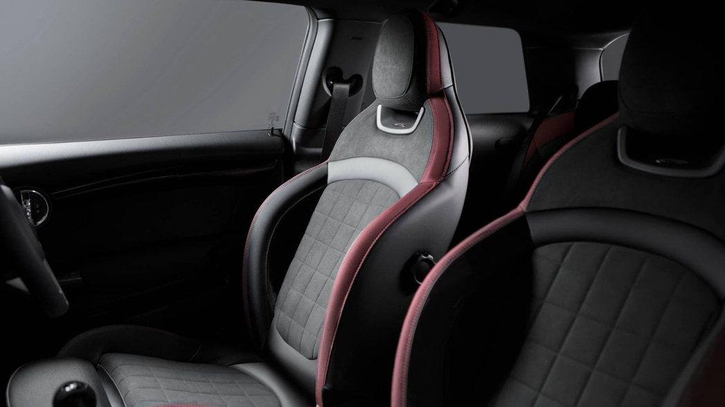 Mini 1499 GT跑車化坐椅。圖/Mini提供