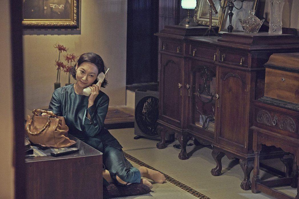 惠英紅在「血觀音」中挑戰大段國語對白。圖/双喜提供