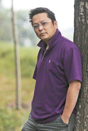 楊小濱。 圖╱徐曉鶴攝影,楊小濱提供