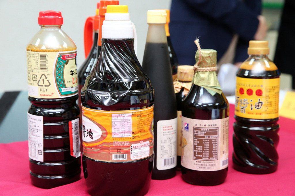 調味料瓶。本報系資料照/記者徐兆玄攝影