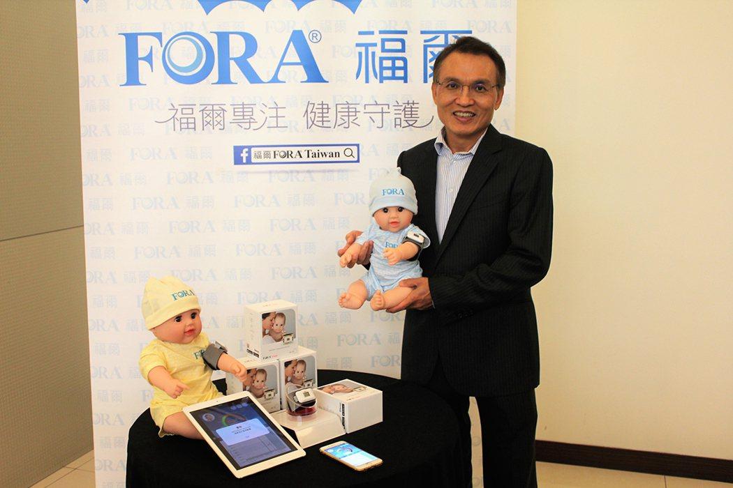 泰博科技總經理陳朝旺希望提供全年齡、全方位的居家照護產品。 李憶婷/攝影