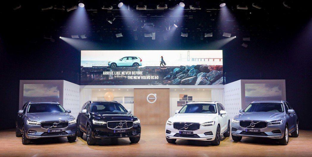 此次國際富豪汽車導入XC60 D4、T5、T6、T8 與 R-Design 等多...