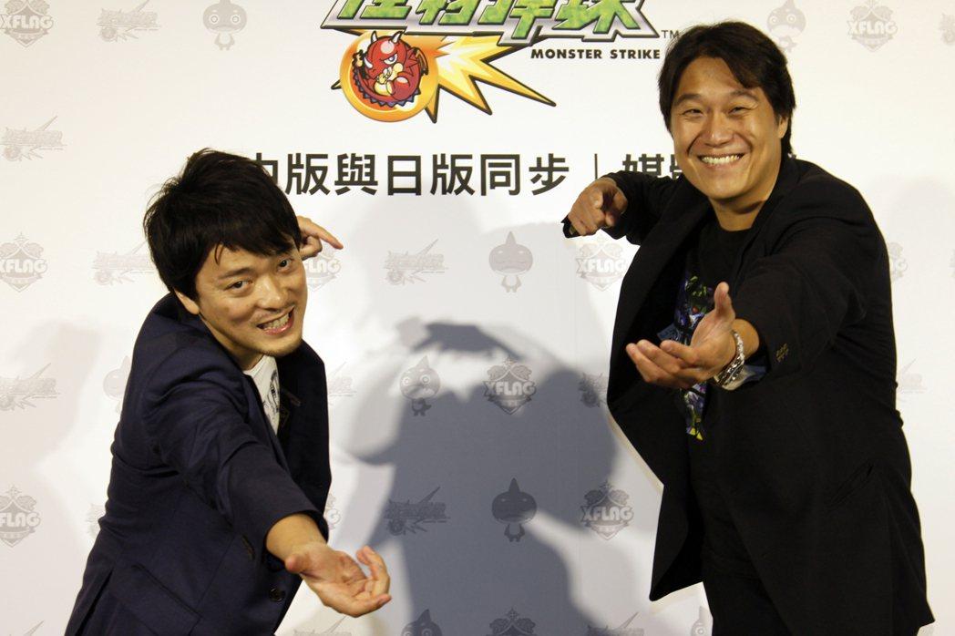 左:總監督-多留幸佑/右:海外戰略總監-黃世元。