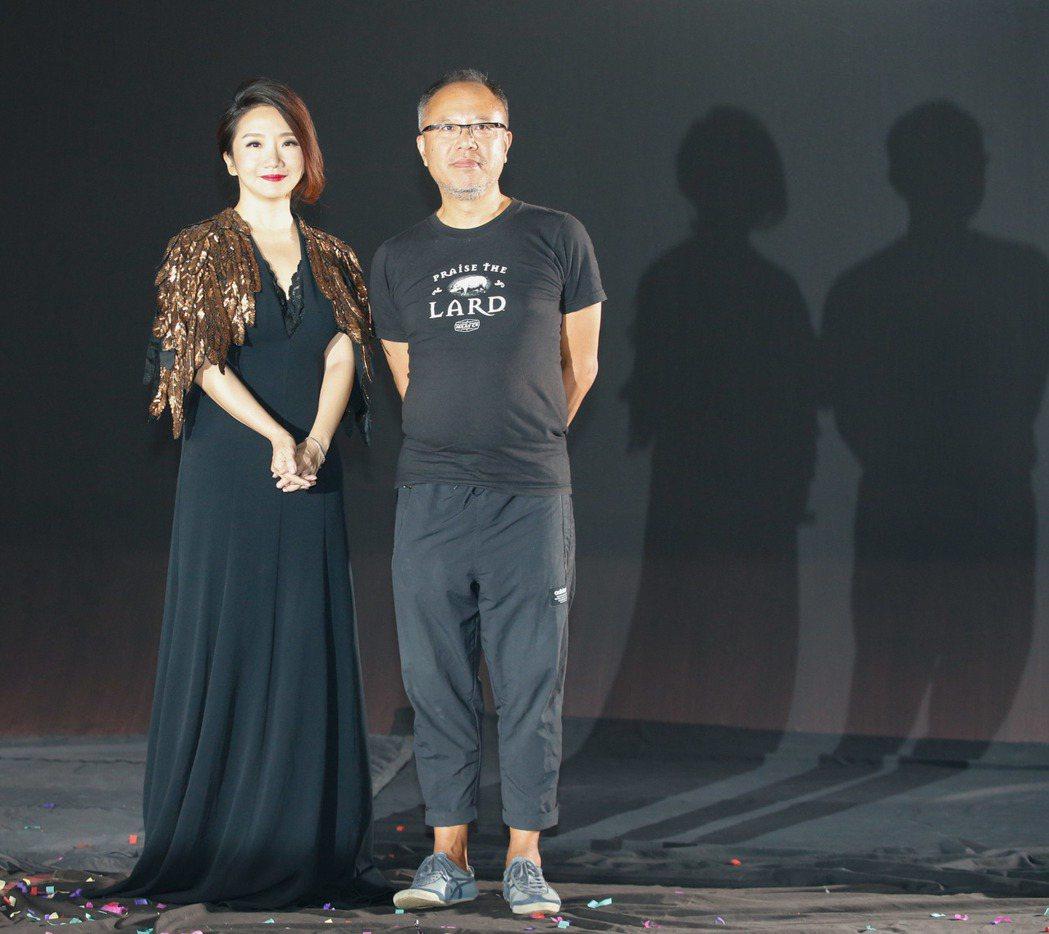 金馬54典禮主持人陶晶瑩(左)與金馬獎最佳導演鍾孟宏(右)攜手打造專屬宣傳影片。