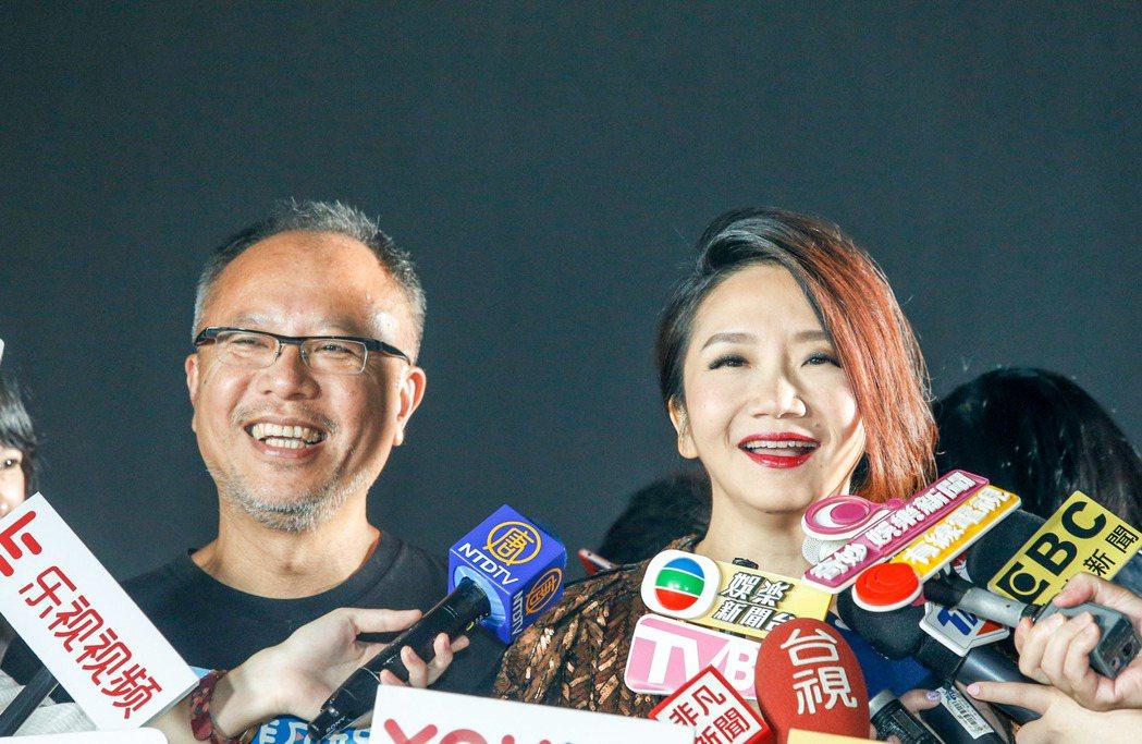 金馬54典禮主持人陶晶瑩(右)與金馬獎最佳導演鍾孟宏(左)攜手打造專屬宣傳影片。...