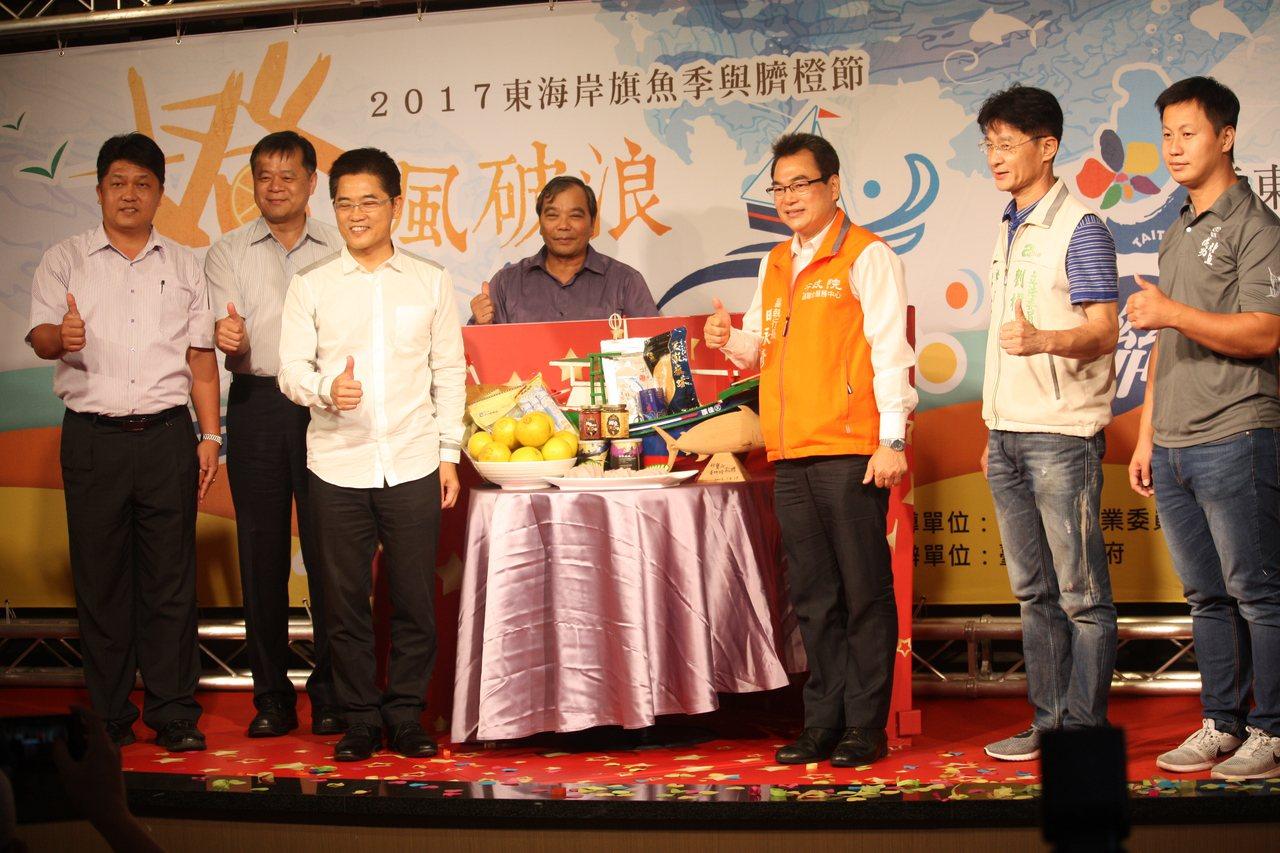 東北季風起,進入旗魚及臍橙產季,台東縣政府邀民眾來趟東海岸之旅。記者潘俊偉/攝影