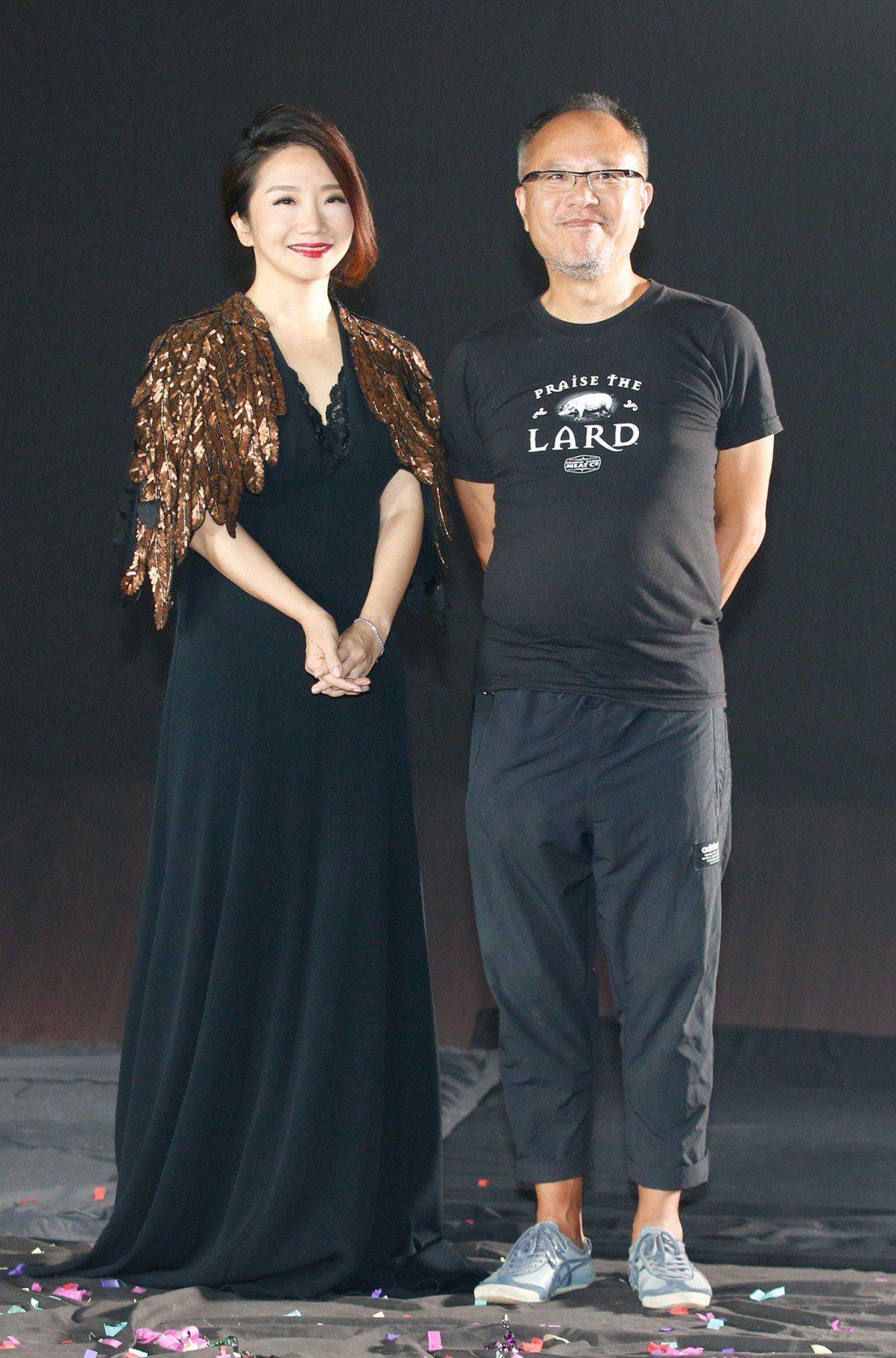 金馬54典禮主持人陶晶瑩(左)與金馬獎最佳導演鍾孟宏(右)攜手打造專屬宣傳影片。...