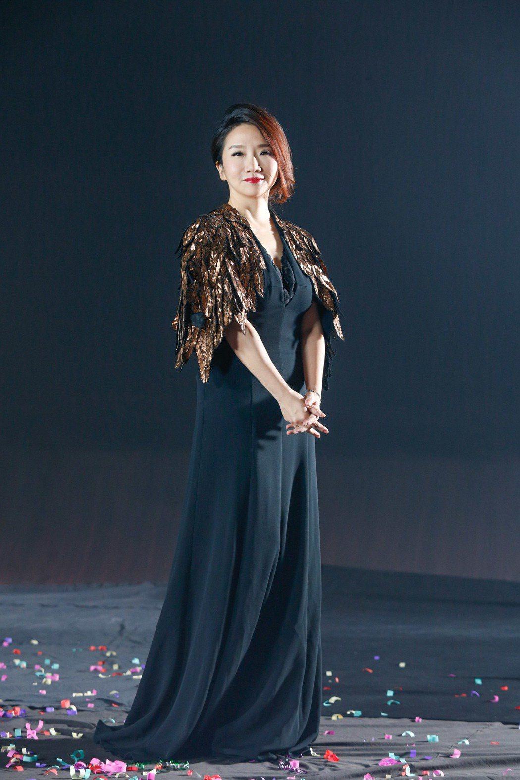 金馬54典禮主持人陶晶瑩。記者鄭超文/攝影