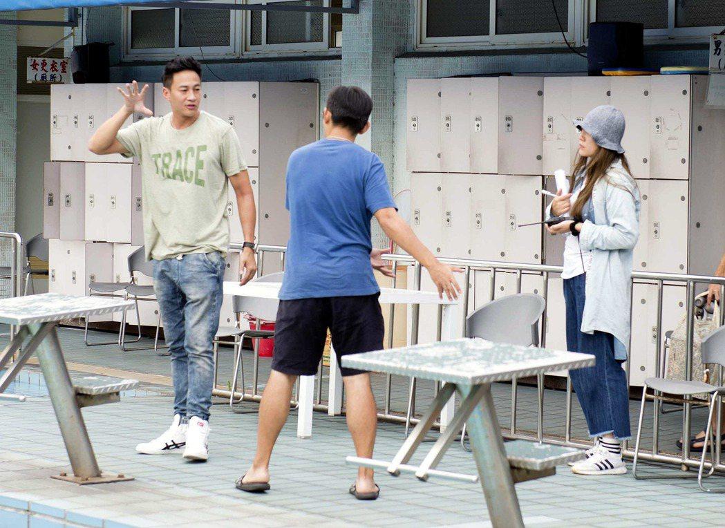 何潤東擔任導演親自走位。圖/TVBS提供