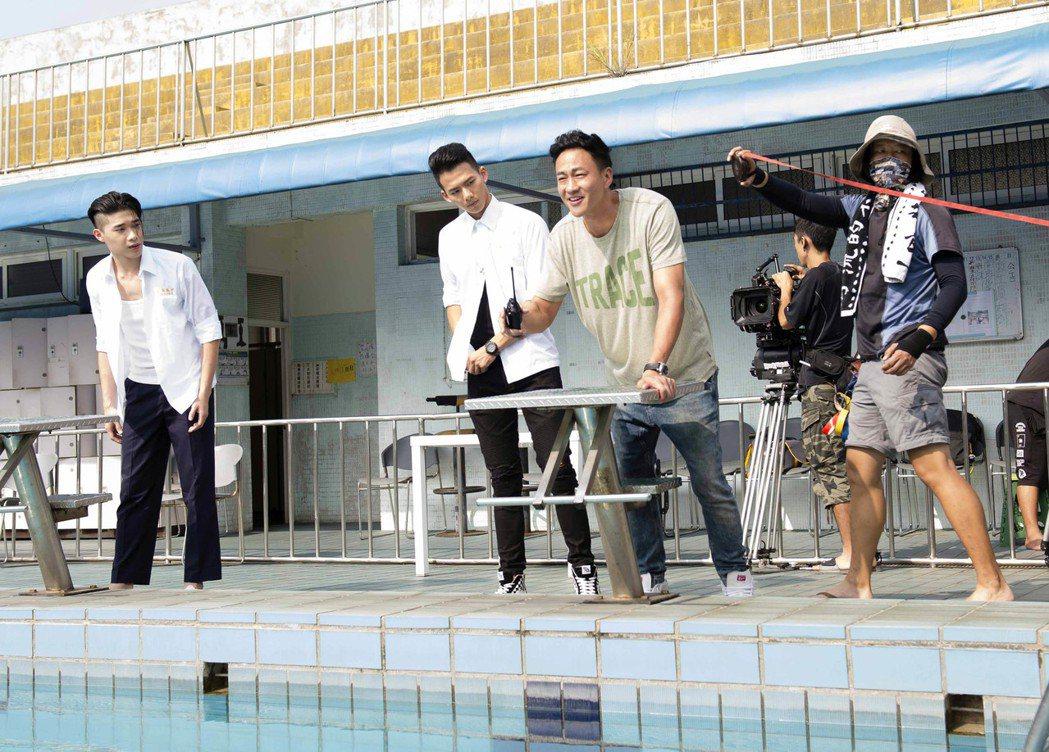 何潤東新戲「翻牆的記憶」身兼四職,操到身形也消瘦。圖/TVBS提供