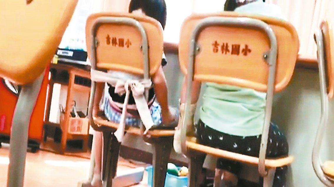 台北市議員黃珊珊近來接獲家長陳情,指吉林國小特教班的教師,直接在課堂上把唐氏症學...