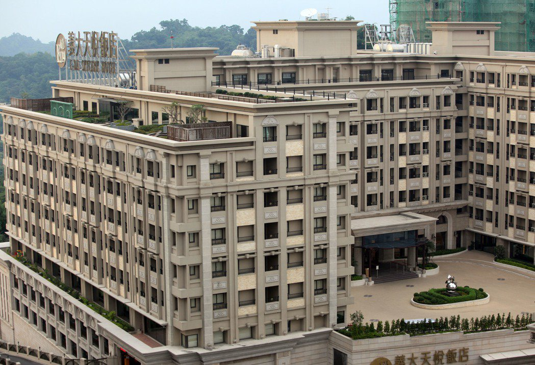 高雄義大世界天悅飯店。 本報資料照片