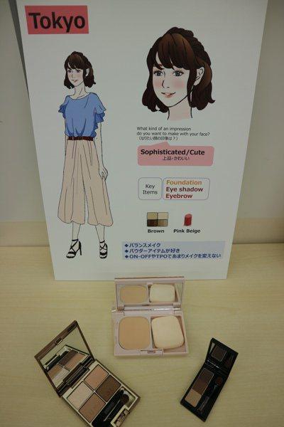 東京女性把化妝當作時尚來享受。 東京記者蔡佩芳/攝影