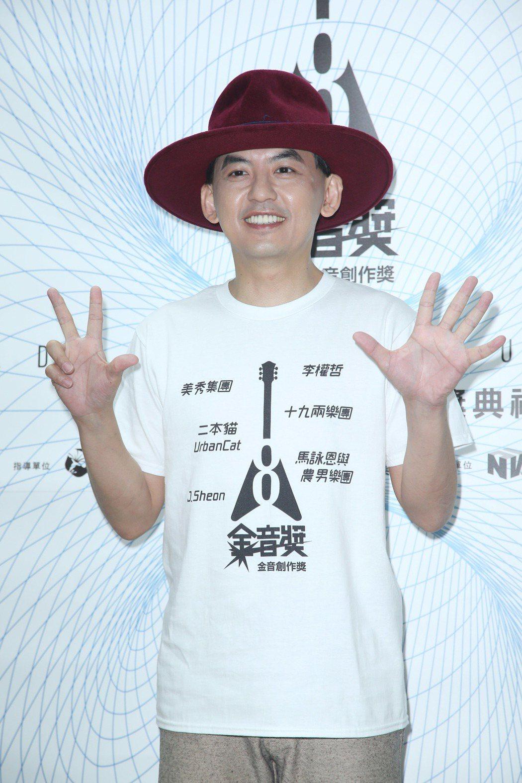 黃子佼再次主持金音獎。記者陳瑞源/攝影