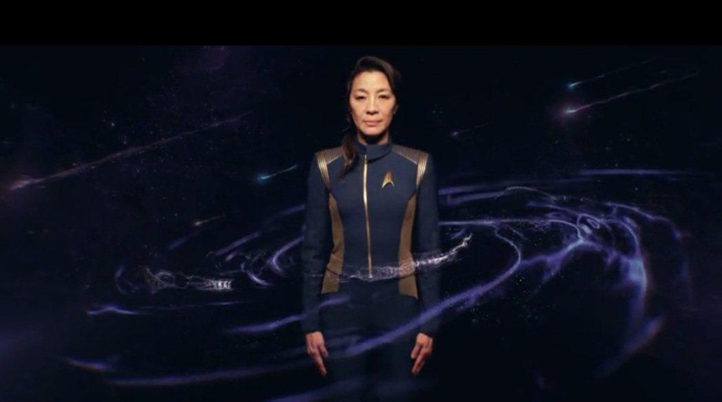 楊紫瓊演出新影集「星際爭霸戰:發現號」(Star Trek:Discovery)...