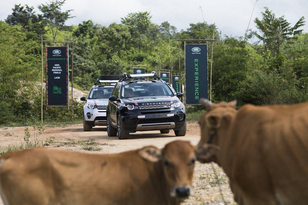 由各地區資格賽優勝者組成,包含兩組台灣代表在內的十四組挑戰團隊,共同於寮國亞太區決賽角逐最高績分。圖/Land Rover提供