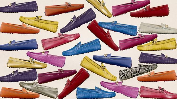 透過TOD'S My Gommino豆豆鞋訂製服務的客製化細節,可設計出世上僅有...