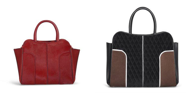 TOD'S Sella Bag以多樣化的面貌,營造冬日專屬的優雅氣息。 圖/...