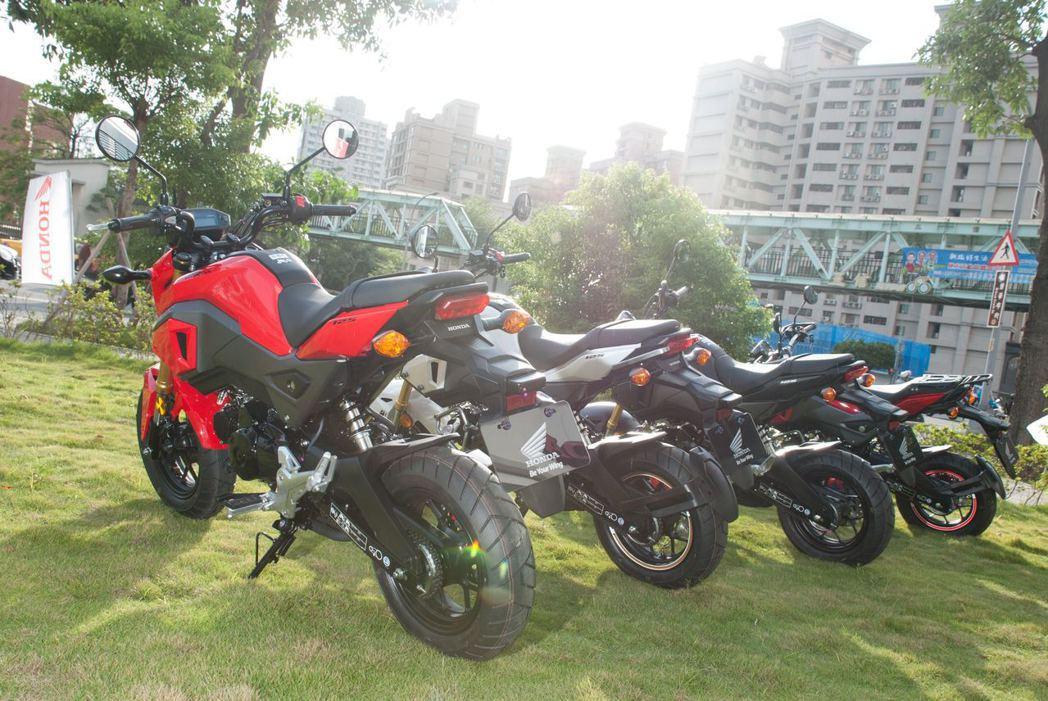 Honda MSX125售價12萬5,000元。記者林昱丞/攝影