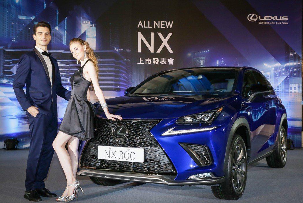 LEXUS NX小改款正式上市。 圖/和泰汽車提供