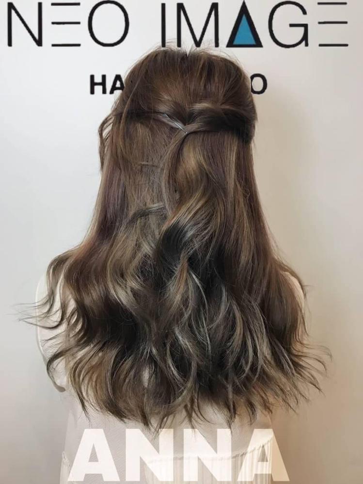 髮型創作/Anna。圖/HairMap美髮地圖提供